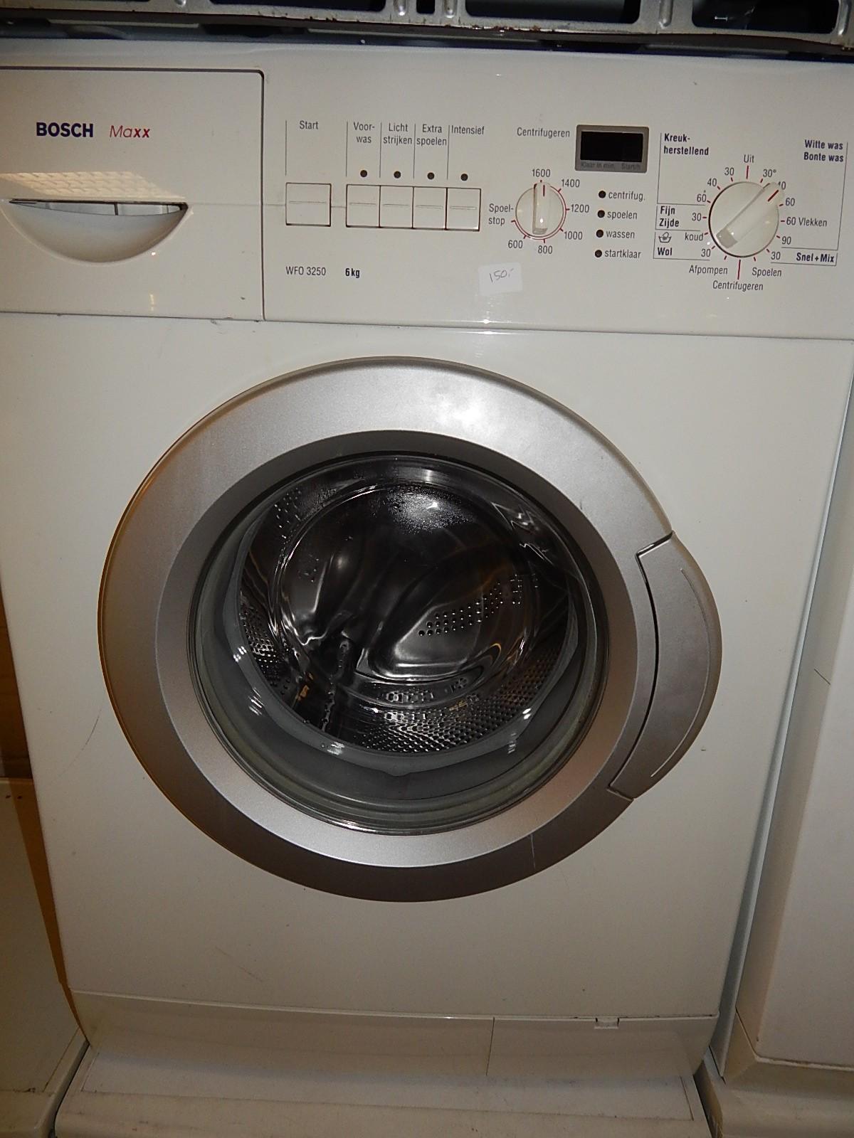 Bosch maxx 6 exclusiv wasmachine